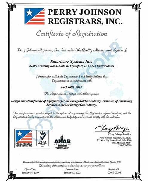 Smartcorr-iso9001-certificate
